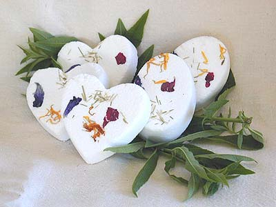 Lemon Verbena Bath Bombe - Oval-shaped