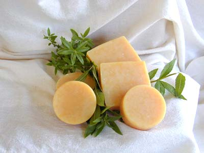 Lemon Verbena Soap - 4.0 Oz Square Bar
