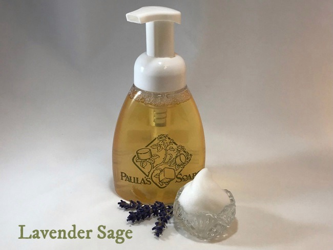 Lavender Sage Liquid Soap - 8 Oz Bottle
